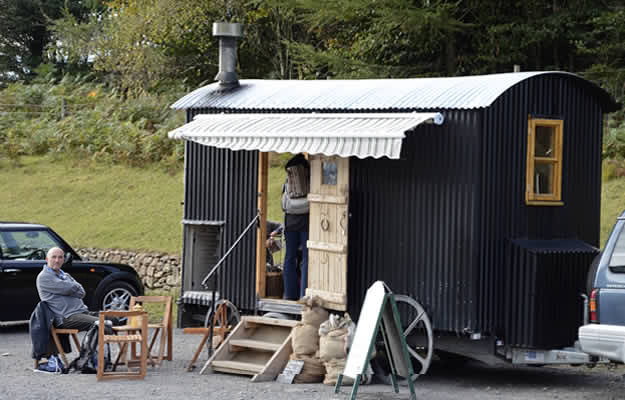 Banner Shepherds Hut